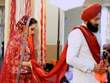 Video : The Punjabi Wedding Of Amar & Simer Has A Special Surprise