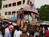 Video: Near Tirupati, Truck Driver Runs Into Pole, Hits Crowd, Some Electrocuted