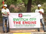 Video : In Delhi, Students Take On Pollution At Traffic Signals