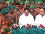 Video : Tamil Nadu Chief Minister Palaniswami Meets Protesting Farmers In Delhi