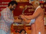 Video: Aamir Khan Receives Award And Attends Ceremony Too. After 16 Years