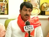 Video : No Celebrations Due To Sukma Attack: Manoj Tiwari After BJP Win In MCD Elections