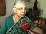 Video : 'Yes, There's A BJP Wave,' Says Sheila Dikshit After Delhi Result
