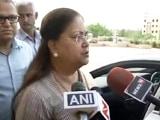 Video : Vasundhara Raje Breaks Silence On Alwar Dairy Farmer's Killing