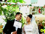 Video : Sandeep & Manjula's Wedding Is A Mix Of Telugu, Punjabi & Christian Cultures