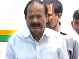 Video: We Don't Leak Reports, Says Venkaiah Naidu On Robert Vadra Row