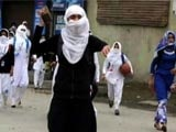 Video : Kashmir's New Face Of Protests: Teen Schoolgirls On The Streets