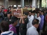 Video: Thousands Attend Captain Ayush Yadav's Funeral