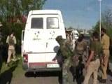 Video : 5 Cops Among 7 Killed As Hizbul Terrorists Target Bank Vehicle In Kashmir