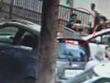 Yes, That's A Mumbai Cop Trying To Run Over Pedestrian. Chilling Video