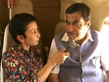 Video : Aerial Survey Of Expressways With Union Minister Nitin Gadkari