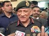 Video : सेना प्लान नहीं बनाती, सेना अमल करती है : सेना प्रमुख बिपिन रावत