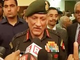 Video : 'We Share Details After Execution': Army Chief Rawat On Call For Action