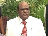 Video : I Am Absolutely Normal, Said Justice CS Karnan As Medical Team Came Calling