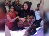 Video : New Video Of Eman Ahmed Shows Media Waiting, Sister Breaks Down