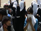 Video : Students Clash With Police In Jammu And Kashmir's Handwara, Tear Gas Used