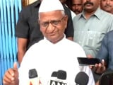 Video : Saddened By Allegations Against Arvind Kejriwal, Says Anna Hazare