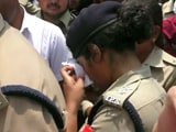 Video : 'Don't Cross Limits' Shouts BJP Lawmaker, Woman IPS Officer Breaks Down