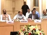 Video : Rajnath Singh Meets Chief Ministers, Asks To Firm Up Anti-Maoist Strategy