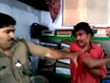 Video : 'My Name Is...,' Brags Samajwadi Lawmaker's Nephew, Slaps Police Officer