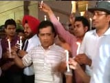 Video : March At India Gate Over Killing Of Army Officer Ummer Fayaz