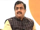 Video: 'Will Neutralise Jammu And Kashmir Terrorists': BJP's Ram Madhav