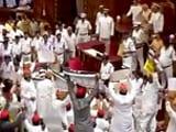 Videos : उत्तर प्रदेश : विधानसभा सत्र शुरू होते ही विपक्षी विधायकों का हंगामा