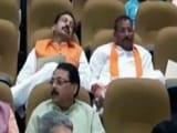 Videos : लखनऊ : जीएसटी की बैठक सोते रहे विधायक