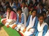 Video : Haryana Girls Break 8-Day Fast After Government Upgrades Village School