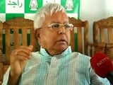 Video: Corruption Charges Against Me On BJP Orders, Says Lalu Yadav