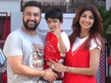 Video : Shilpa Shetty Celebrates Son Vivaan's Fifth Birthday