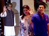 Video: Big B, Sachin At Ambani Party For Mumbai Indians