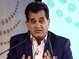 Video : Digital Payment Structure In India Is 5 years Ahead of US: Amitabh Kant