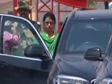 Video : Indian Woman Who Alleged Wedding At Gunpoint To Pak Man Returns Home