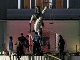 Video : 'Un-Islamic' Lady Justice Statue Removed In Dhaka, Hardliners Want All Idols To Go