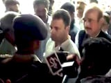 Video : Rahul Gandhi, Headed To Riot-Hit Saharanpur, Stopped At District Border