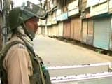Video : Curfew In Srinagar Day After Hizbul Commander Sabzar Ahmad Bhat Killed