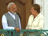 Video : PM Modi Meets German Chancellor Angela Merkel At Country Retreat