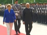 Video : PM Modi Gets Ceremonial Welcome In Berlin
