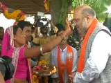 Video : In Congress Stronghold, Amit Shah Sets 150-Seat Target For BJP In Gujarat
