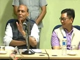 Video : Centre Won't Impose Any Restriction On Choice Of Food: Rajnath Singh