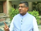 Video : Walk The Talk With Law Minister Ravi Shankar Prasad