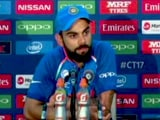 Pakistan Played Really Good Cricket And Deserved To Win: Virat Kohli