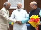 Video : BJP Picks Bihar Governor Ram Nath Kovind For President, Opposition Weakened