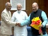 Videos : इंडिया 8 बजे : रामनाथ कोविंद होंगे देश के अगले राष्ट्रपति?