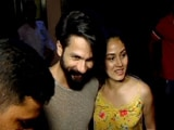 Shahid Kapoor's Dinner Date With Wife Mira Rajput