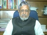 Video : 'Leaders From Nitish Kumar's Party Helped Expose Lalu Yadav,' Says BJP Leader Sushil Modi
