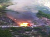 Video: उत्तराखंड : हाइवे-58 पर गैस सिलिंडर से भरे एक ट्रक में आग