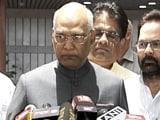 Video : नामांकन भरने के बाद रामनाथ कोविंद बोले - राष्ट्रपति को दलगत राजनीति से ऊपर होना चाहिए