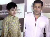 Video : Salman Khan, Matin And Other Stars Attend Baba Siddique's Iftaar Party